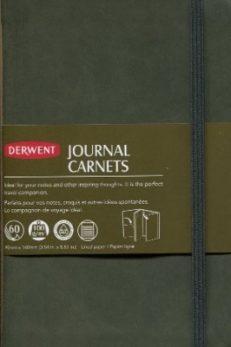 Derwent Green A6 Faux Buckskin Journal