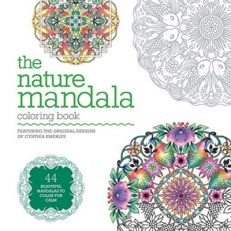 The Nature Mandala Colouring Book