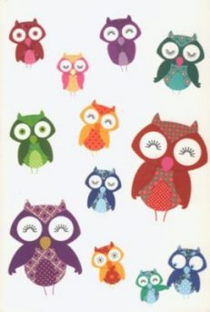 Owls Notecard Collection