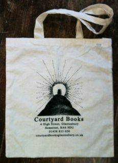 Courtyard Books Cotton Bags