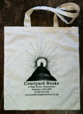 Courtyard Books Cotton Bags