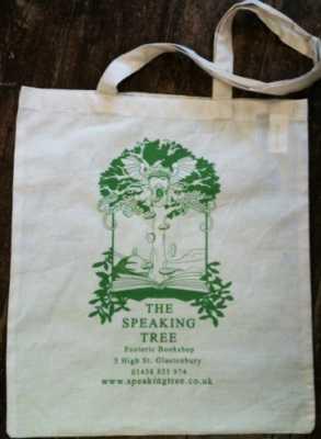 Speaking Tree Cotton Bag