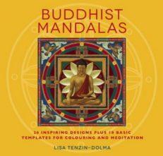 Buddhist Mandalas Colouring Book