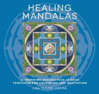 Healing Mandalas Colouring Book