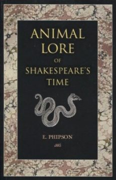 Animal Lore Of Shakespeare's Time