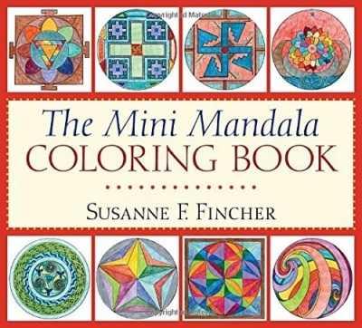 The Mini Mandala Colouring Book