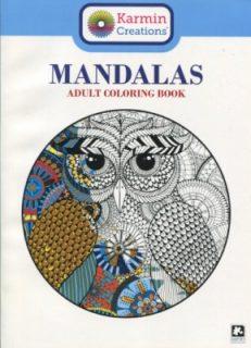 Mandalas Adult Colouring Book