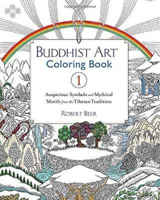 Buddhist Art Colouring Book 1