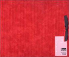 Cachet Corduroy Postbound Album – Red