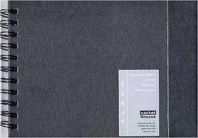 Cachet Finesse Album – Black