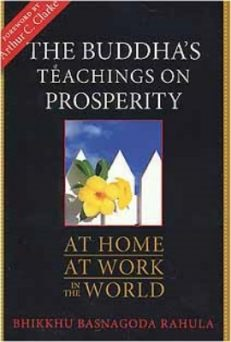 Buddha's Teaching On Prosperity