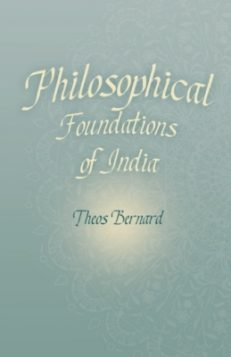 Hindu Philosophy Or Philosophical Foundations Of India