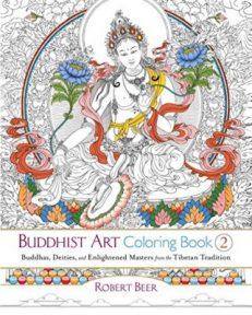 Buddhist Art Colouring Book 2