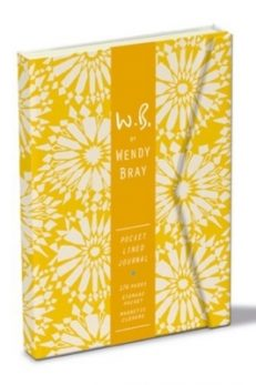 W.B. Pocket Lined Journal – Yellow