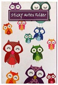 Owls Sticky Notes Folder